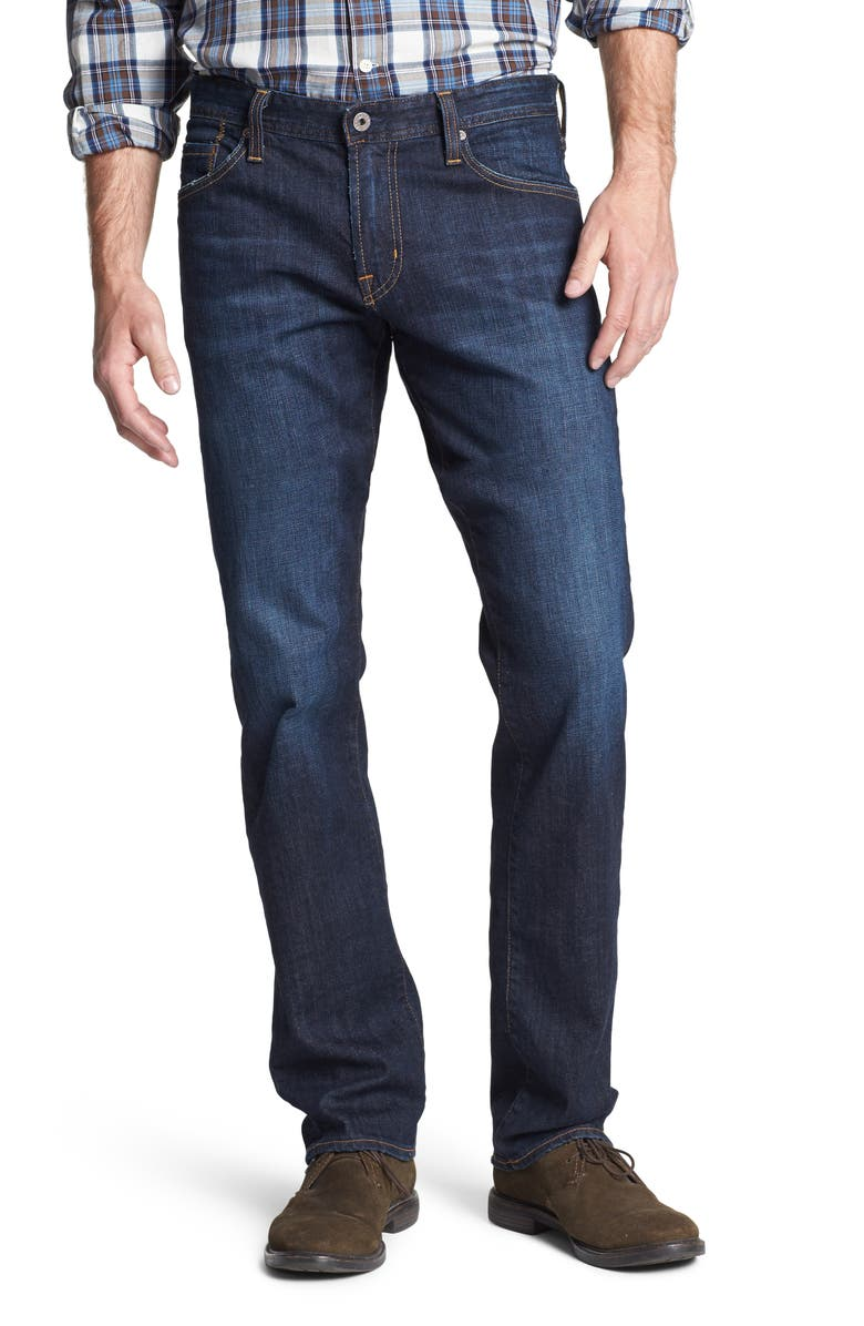 AG Graduate Tailored Leg Jeans, Main, color, ROBINSON