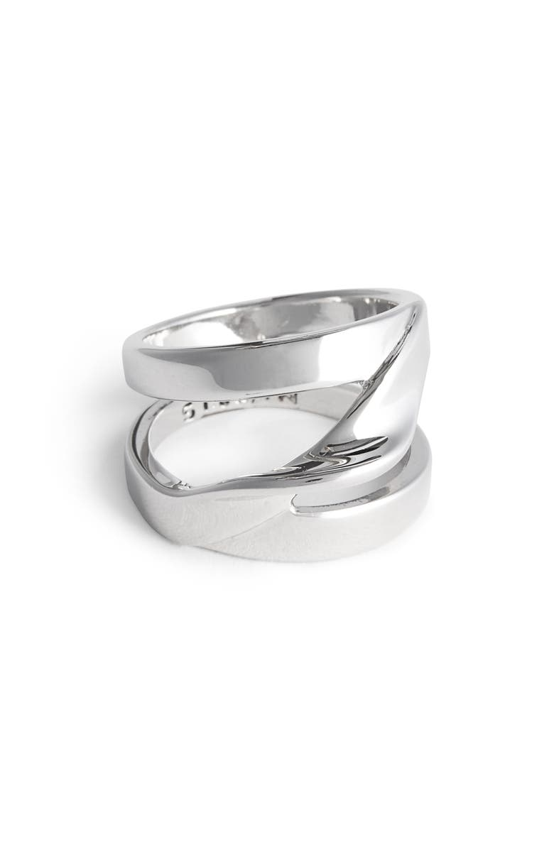 ST. JOHN COLLECTION Twist Metal Ring, Main, color, 040