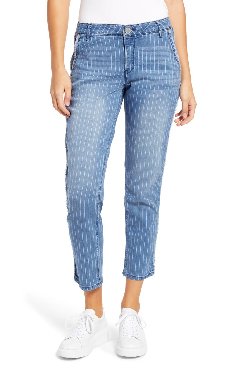 WIT & WISDOM Ab-Solution High Waist Ankle Straight Jeans, Main, color, 458
