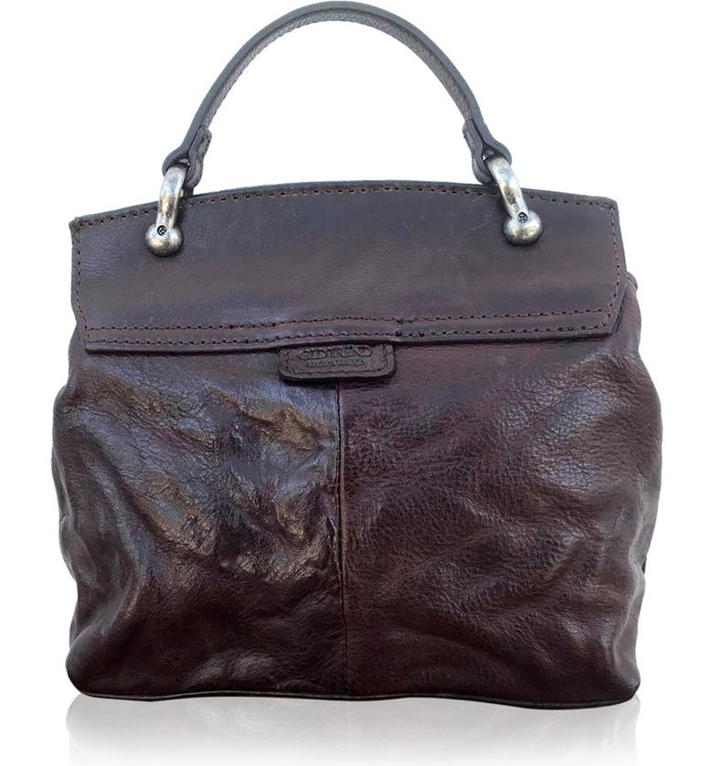 OLD TREND Leather Cypress Crossbody Bag, Main, color, BROWN