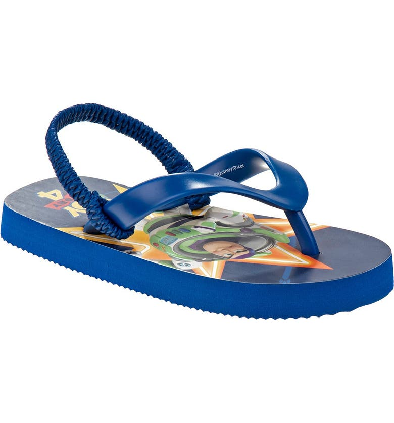 JOSMO Toy Story Flip Flop, Main, color, NAVY