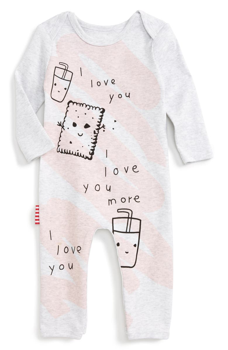 SOOKIBABY I Love You Romper, Main, color, 655