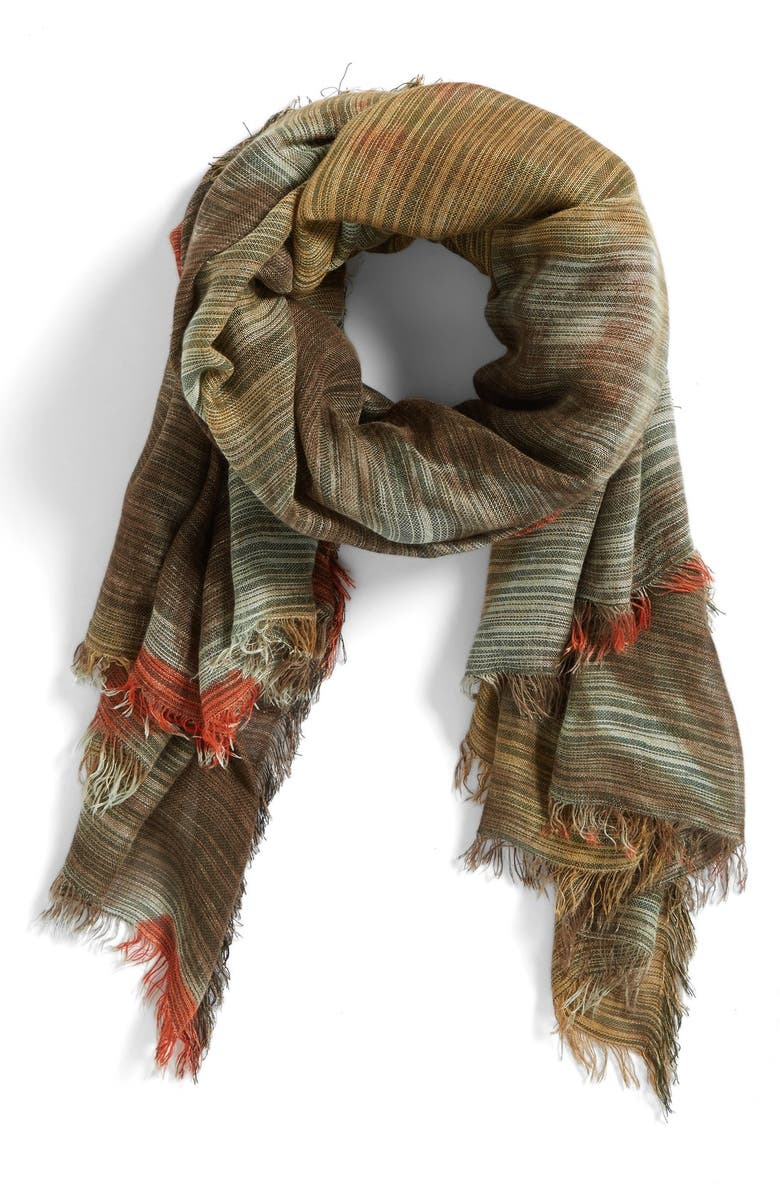 COLLECTION XIIX Double Dye Scarf, Main, color, 300