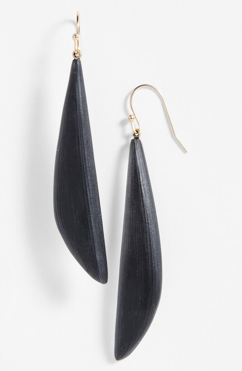 ALEXIS BITTAR 'Lucite<sup>®</sup>' Angled Drop Earrings, Main, color, 001