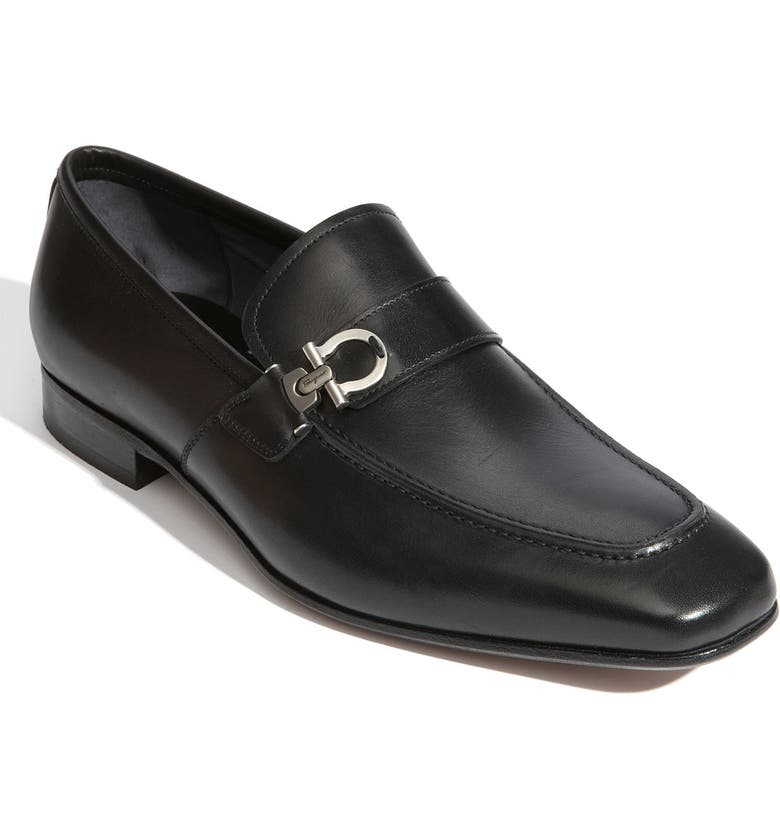 SALVATORE FERRAGAMO 'Bramante' Loafer, Main, color, 001