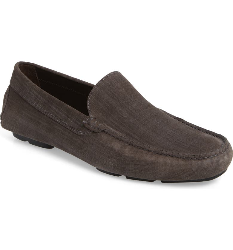 TO BOOT NEW YORK Lewis Driving Loafer, Main, color, GREY