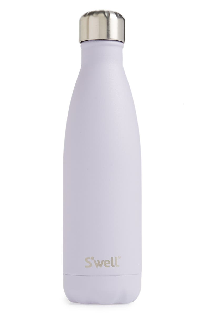 S'WELL Purple Garnet Insulated Stainless Steel Water Bottle, Main, color, 500