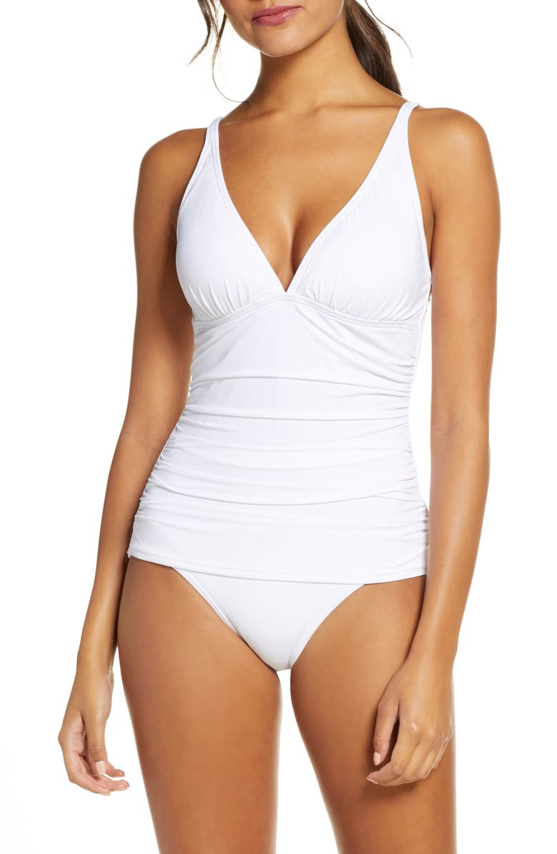 TOMMY BAHAMA Pearl One-Piece Swimsuit, Main, color, 173