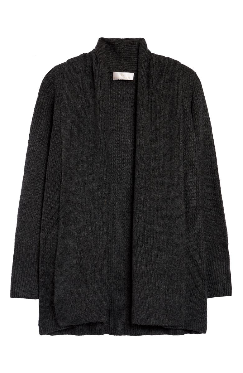 RACHEL PARCELL Shawl Collar Open Cardigan, Main, color, 030