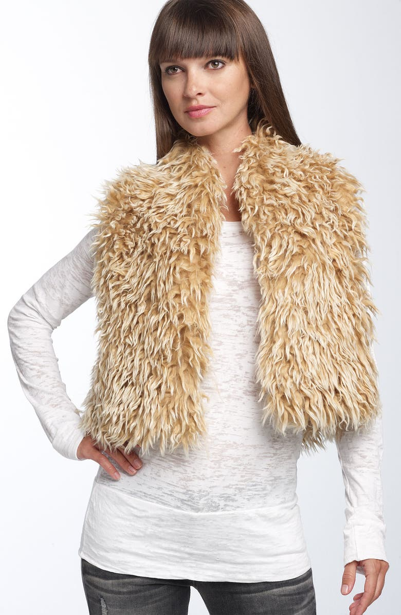 HINGE <sup>®</sup> Shaggy Crop Vest, Main, color, 710
