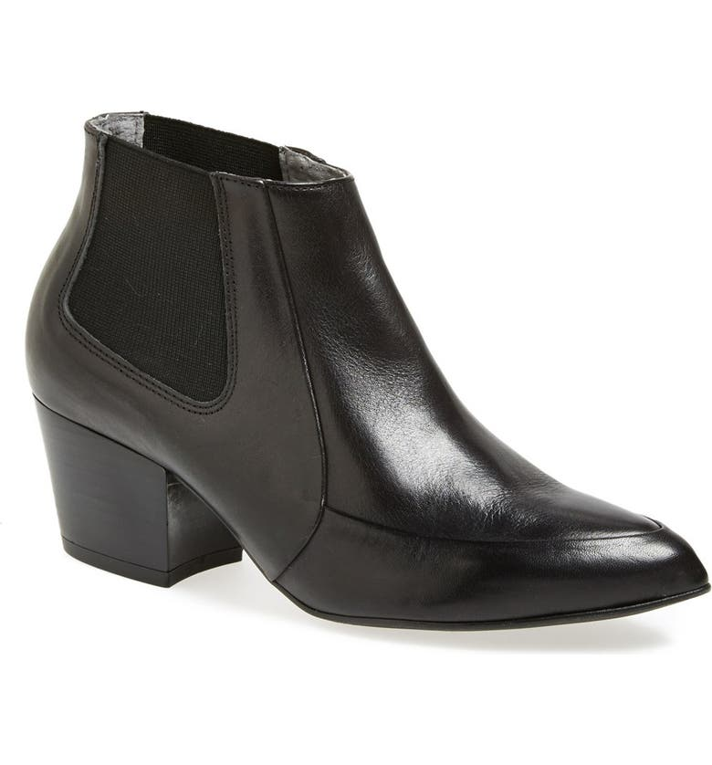 TOPSHOP 'Access Panel' Chelsea Boot, Main, color, 001