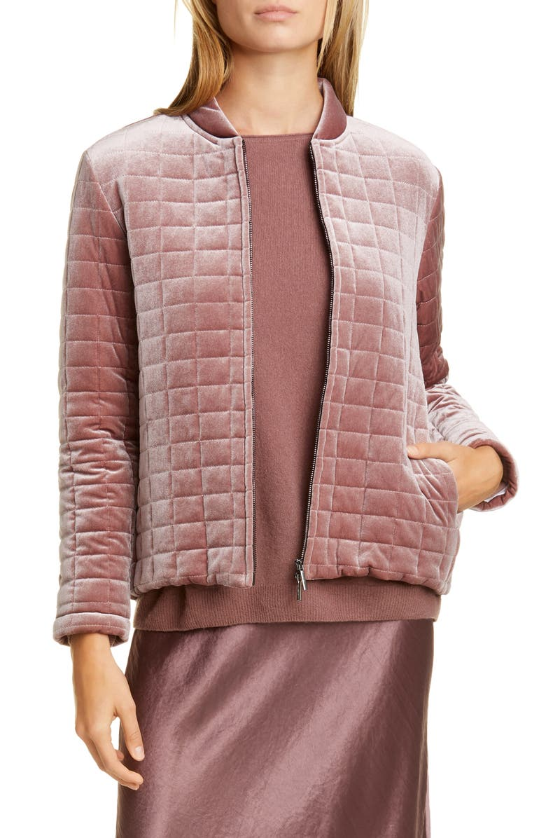 MAX MARA LEISURE Addurre Quilted Jacket, Main, color, 612