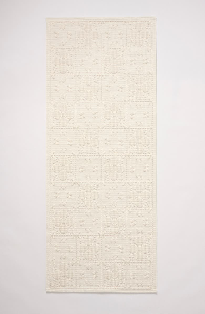 ANTHROPOLOGIE HOME Tile Runner Bath Mat, Main, color, 100