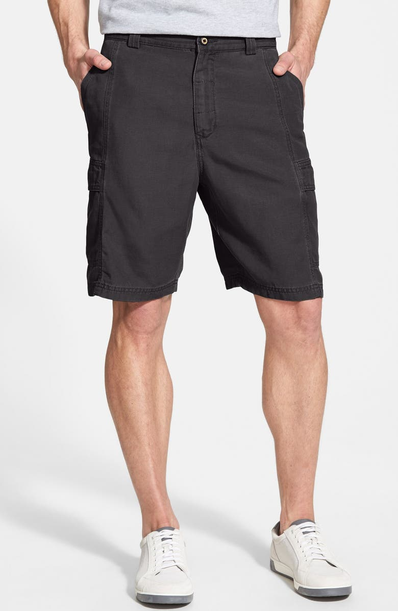 TOMMY BAHAMA 'Key Grip' Relaxed Fit Cargo Shorts, Main, color, 003