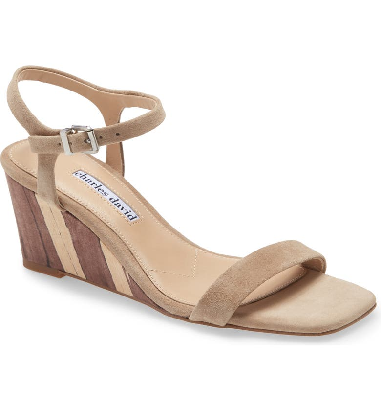 CHARLES DAVID Transform Wedge Sandal, Main, color, 069
