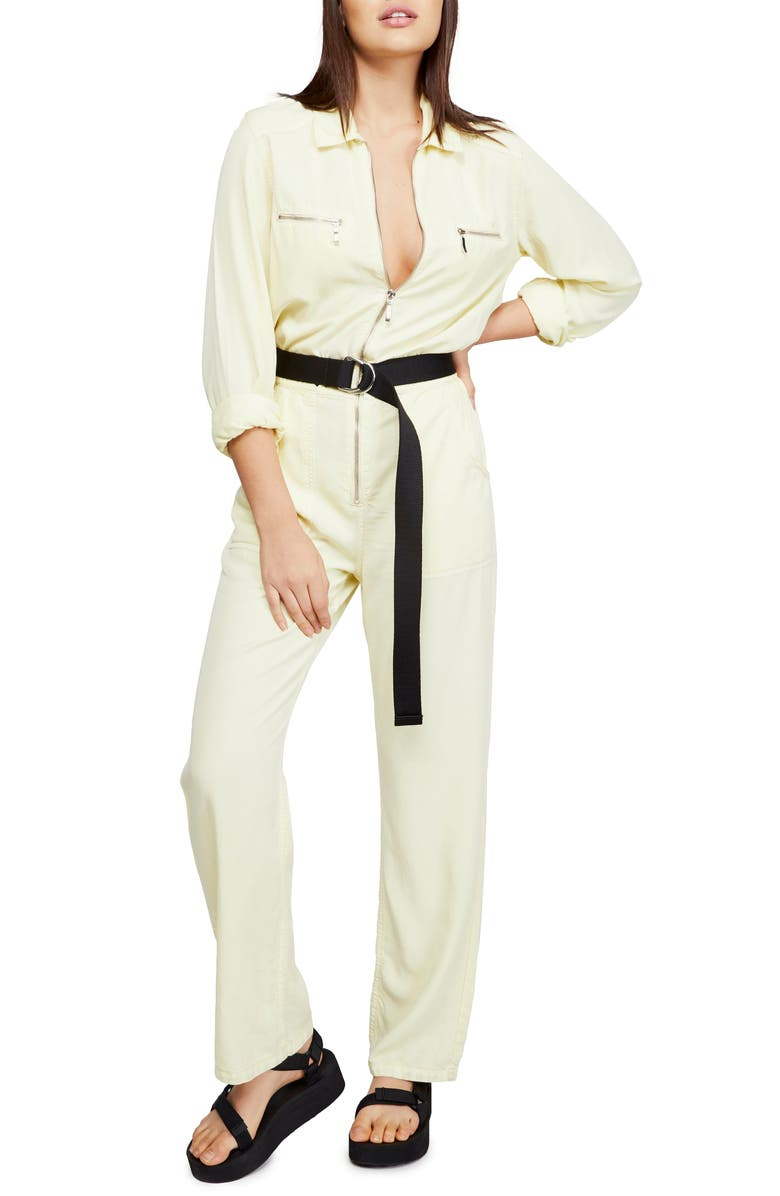 BDG URBAN OUTFITTERS Victory Twill Jumpsuit, Main, color, 700