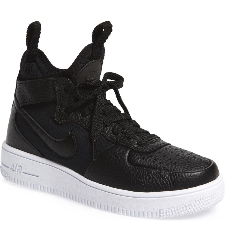 NIKE Air Force 1 Ultraforce Mid Sneaker, Main, color, 005