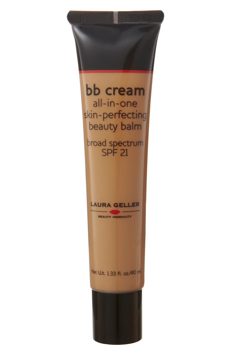 LAURA GELLER BEAUTY 'BB Cream' All-in-One Skin-Perfecting Beauty Balm Broad Spectrum SPF 21, Main, color, 200