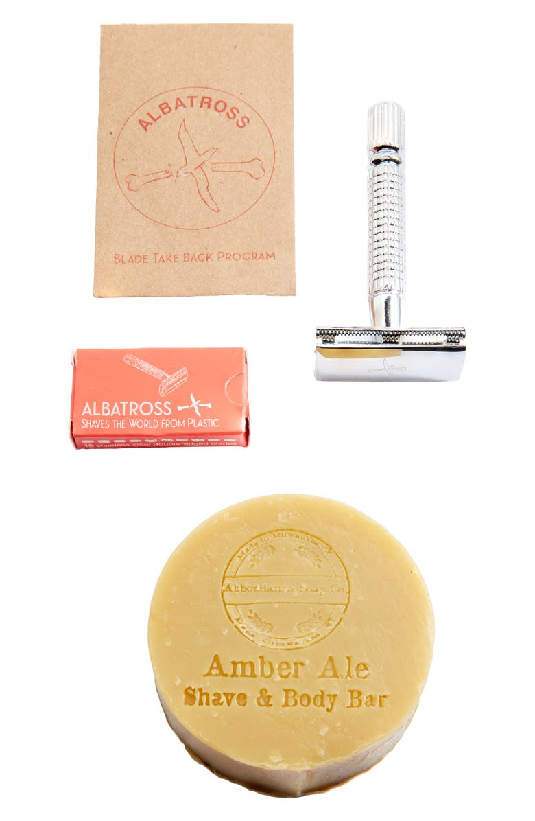 PACKAGE FREE Zero Waste Shave Kit, Main, color, MULTI