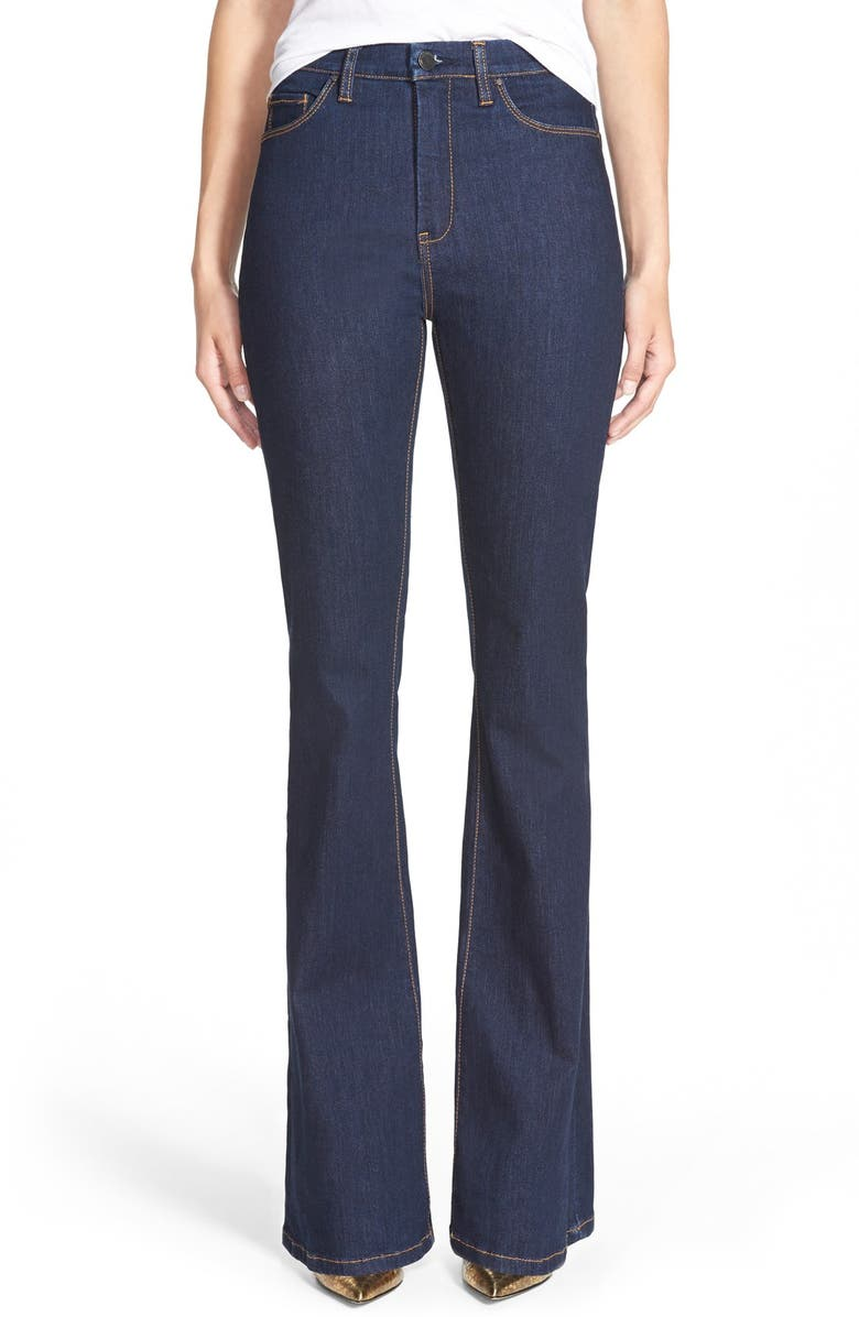 BLANKNYC 'Lies and Alibis' Flare Jeans, Main, color, BLUE
