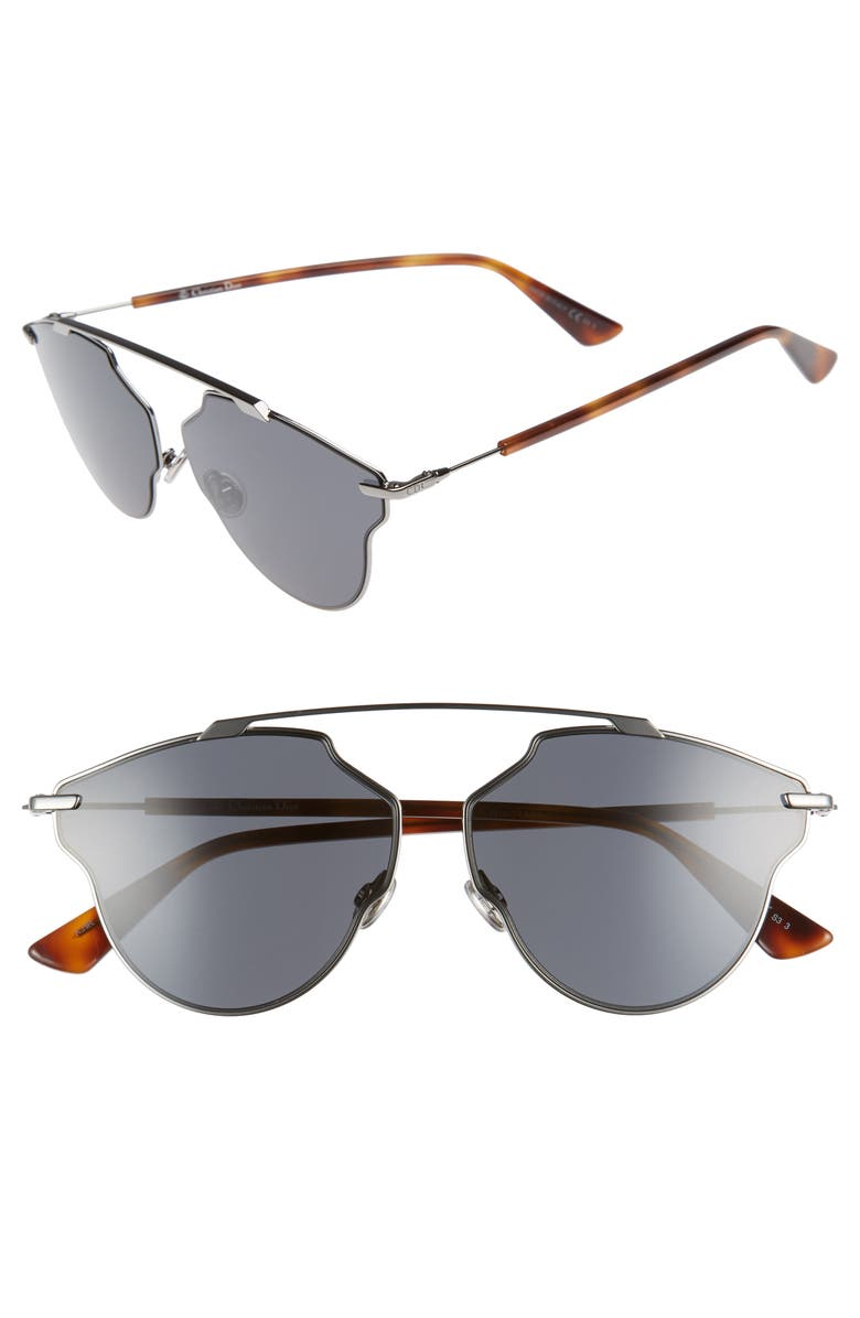 DIOR 448 Dior 59mm Sunglasses, Main, color, 040
