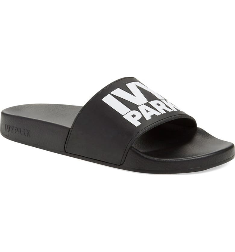 IVY PARK<SUP>®</SUP> Logo Slide Sandal, Main, color, 001