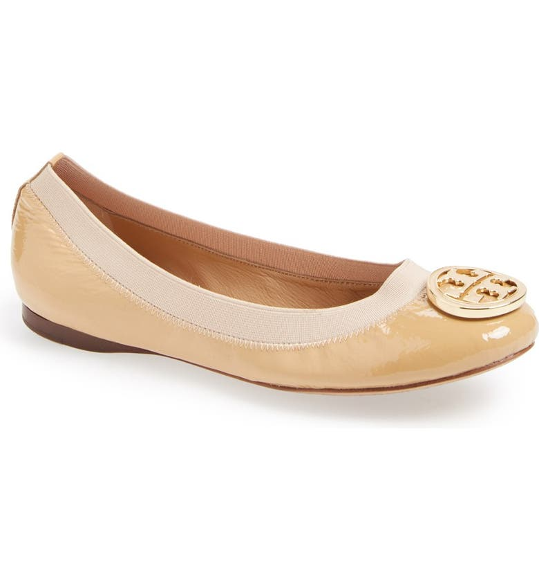 TORY BURCH 'Caroline' Ballerina Flat, Main, color, 615