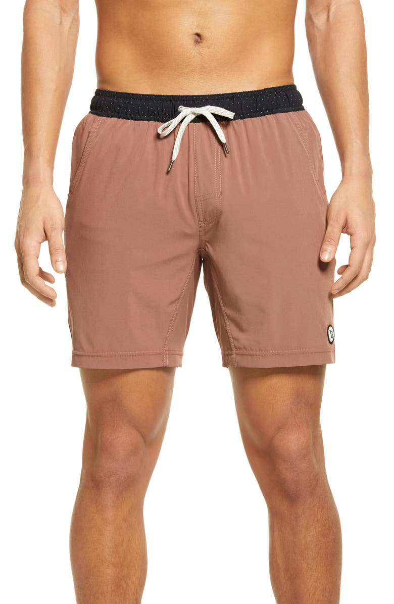 VUORI Kore Shorts, Main, color, TERRACOTTA