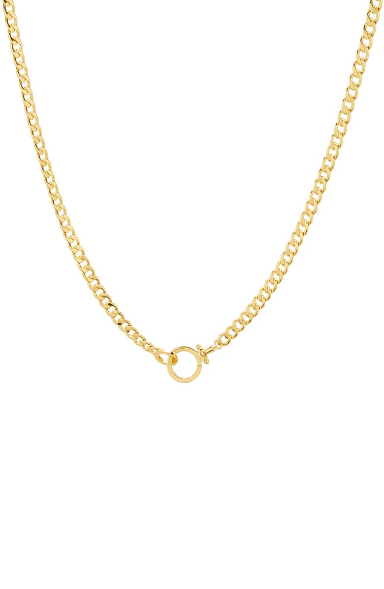 GORJANA Wilder Chain Link Necklace, Main, color, GOLD