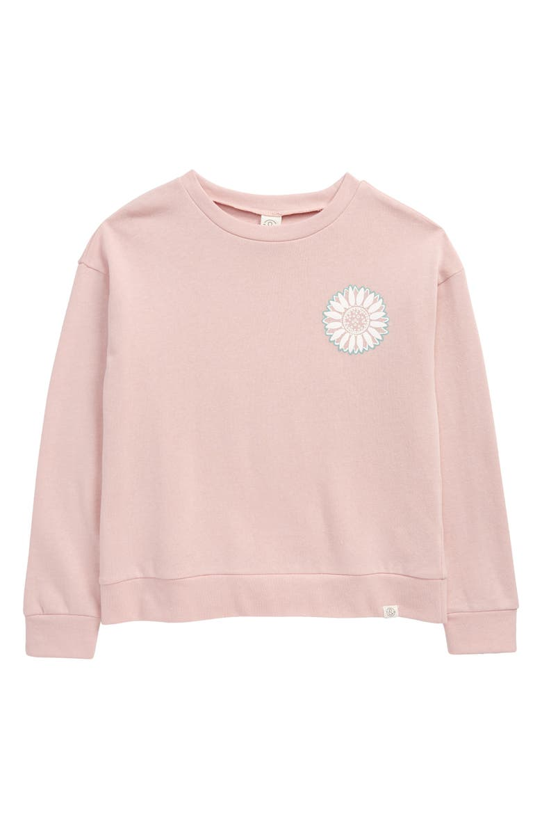 TREASURE & BOND Kids' Positive Energy Pullover, Main, color, 680