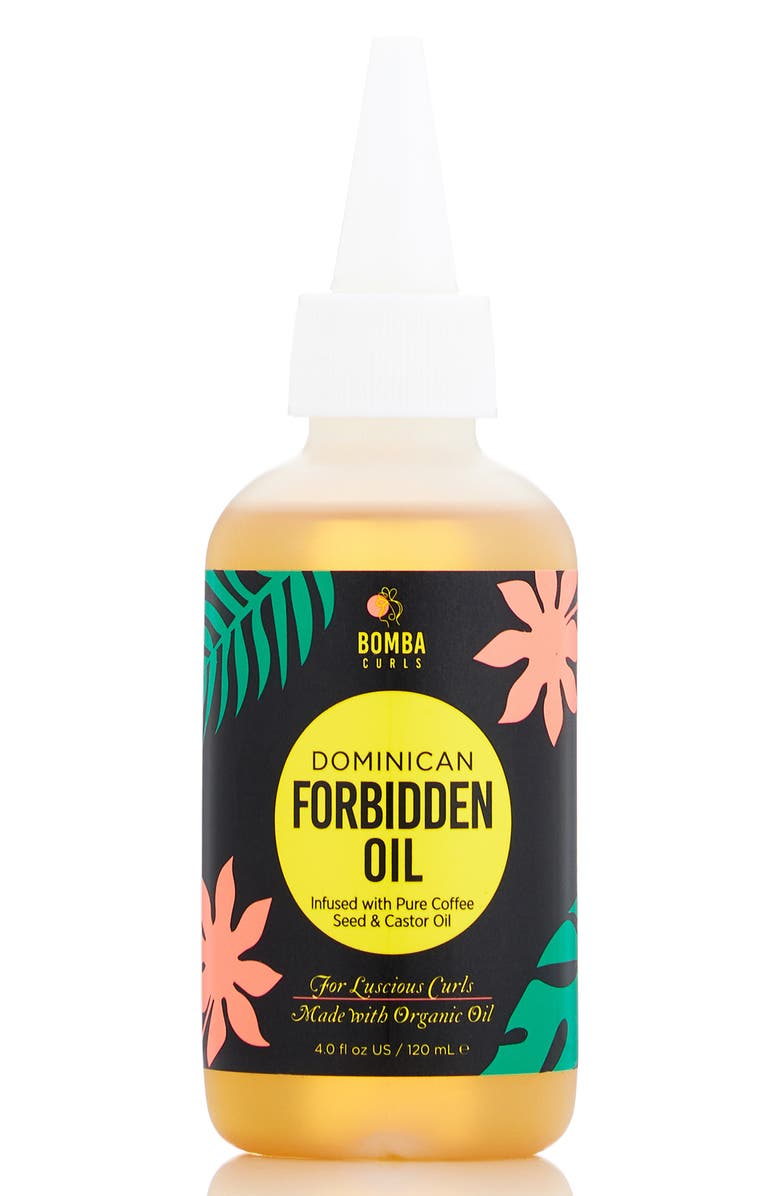 BOMBA CURLS Dominican Forbidden Oil, Main, color, NO COLOR