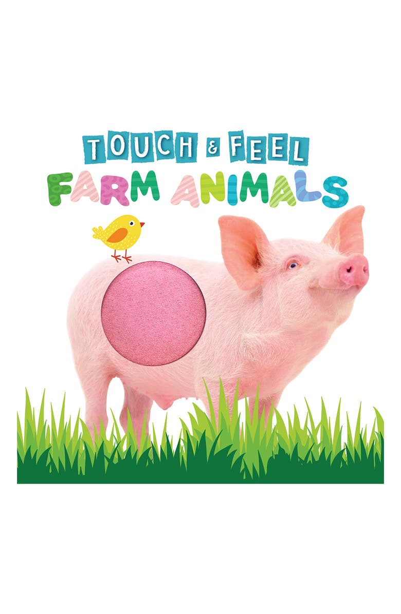 LITTLE HIPPO BOOKS Touch and Feel Farm Animals, Main, color, MULTI