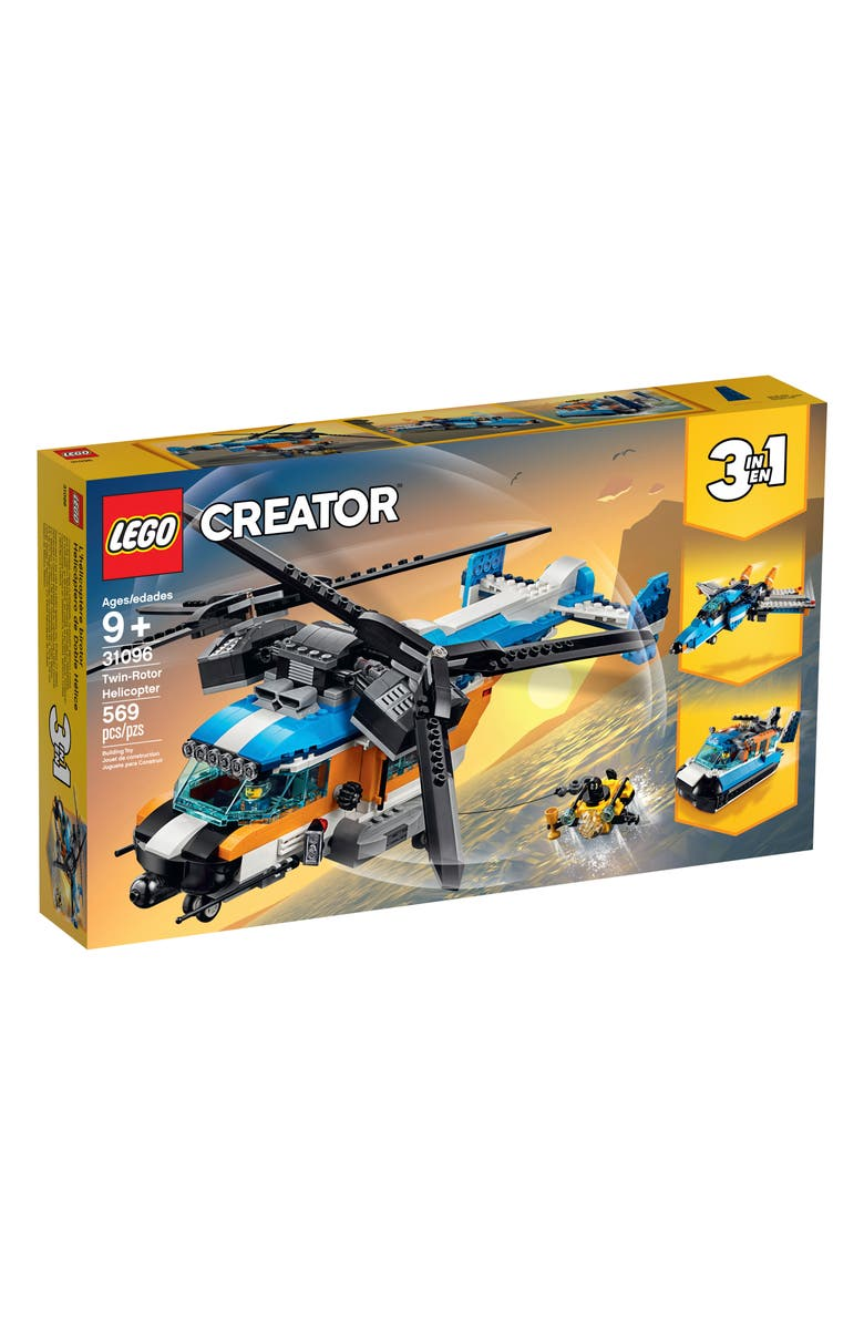 LEGO<SUP>®</SUP> Creator Twin-Rotor Helicopter - 31096, Main, color, 960