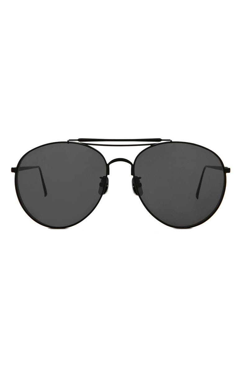 GENTLE MONSTER Big Bully 60mm Sunglasses, Main, color, 001