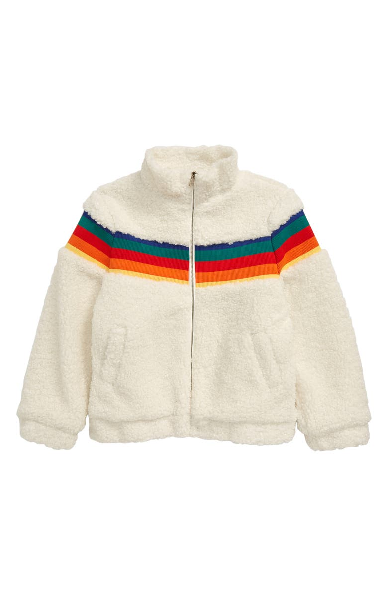 FOR ALL SEASONS Teddy Bear Full Zip Fleece Jacket, Main, color, 900