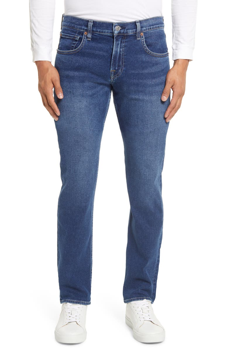 7 FOR ALL MANKIND<SUP>®</SUP> Straight Leg Jeans, Main, color, ARIZONA