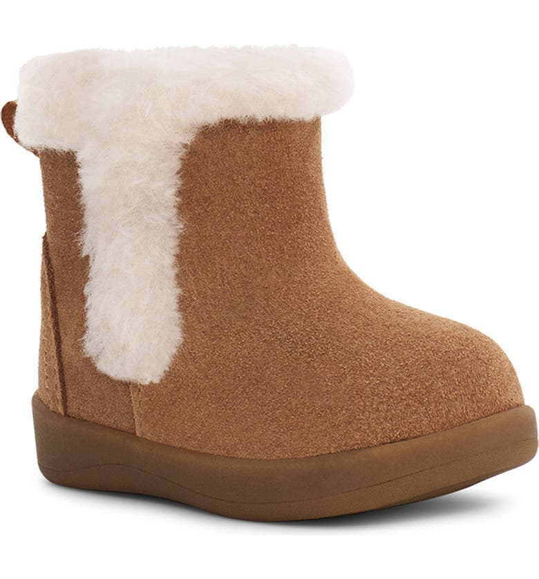 UGG<SUP>®</SUP> Mallya Bootie, Main, color, CHESTNUT SUEDE