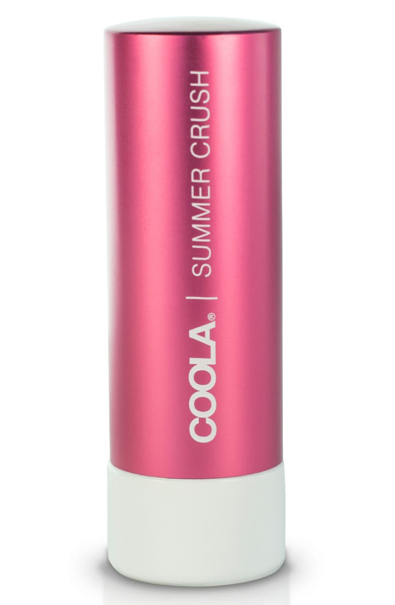 COOLA<SUP>®</SUP> Suncare Mineral Liplux<sup>®</sup> Organic Tinted Lip Balm SPF 30, Main, color, SUMMER CRUSH