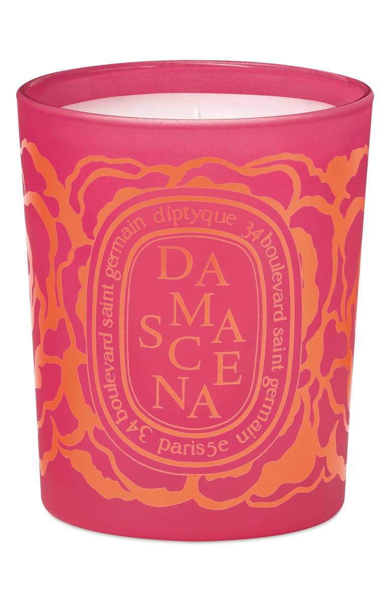 DIPTYQUE Roses Damascena Scented Candle, Main, color, No Color