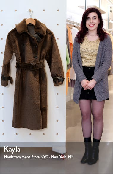 Chester Reversible Faux Fur Coat, sales video thumbnail