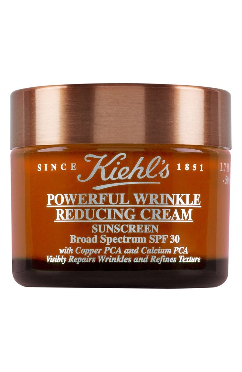 KIEHL'S SINCE 1851 Powerful Wrinkle Reducing Cream Broad Spectrum SPF 30 Sunscreen, Main, color, NO COLOR