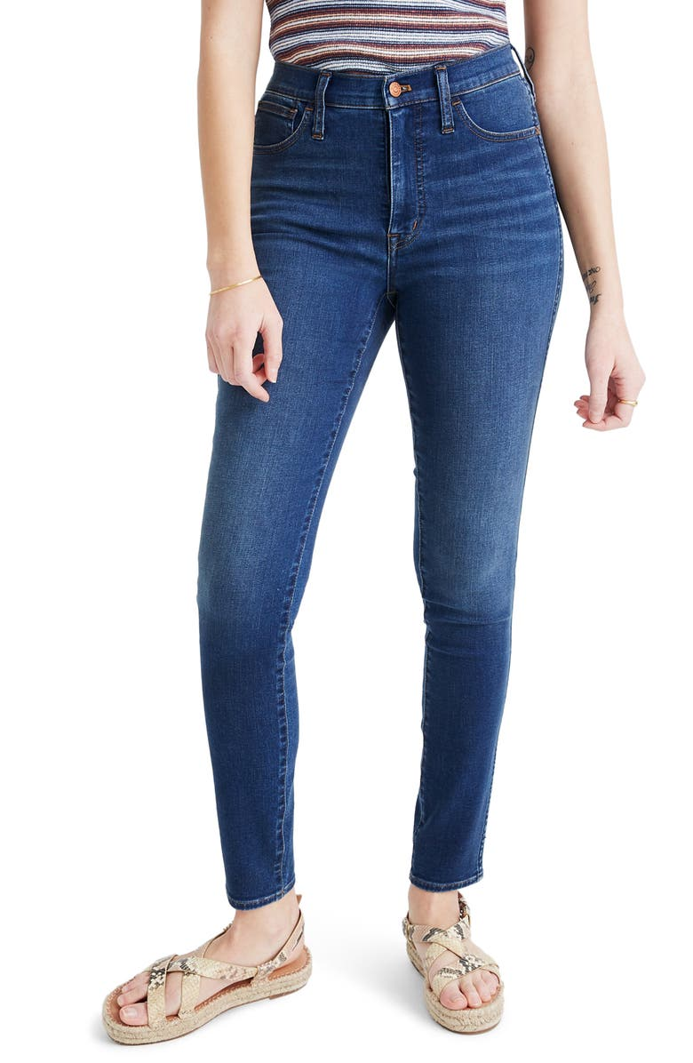 MADEWELL 10-Inch Roadtripper Jeans, Main, color, PLAYFORD WASH