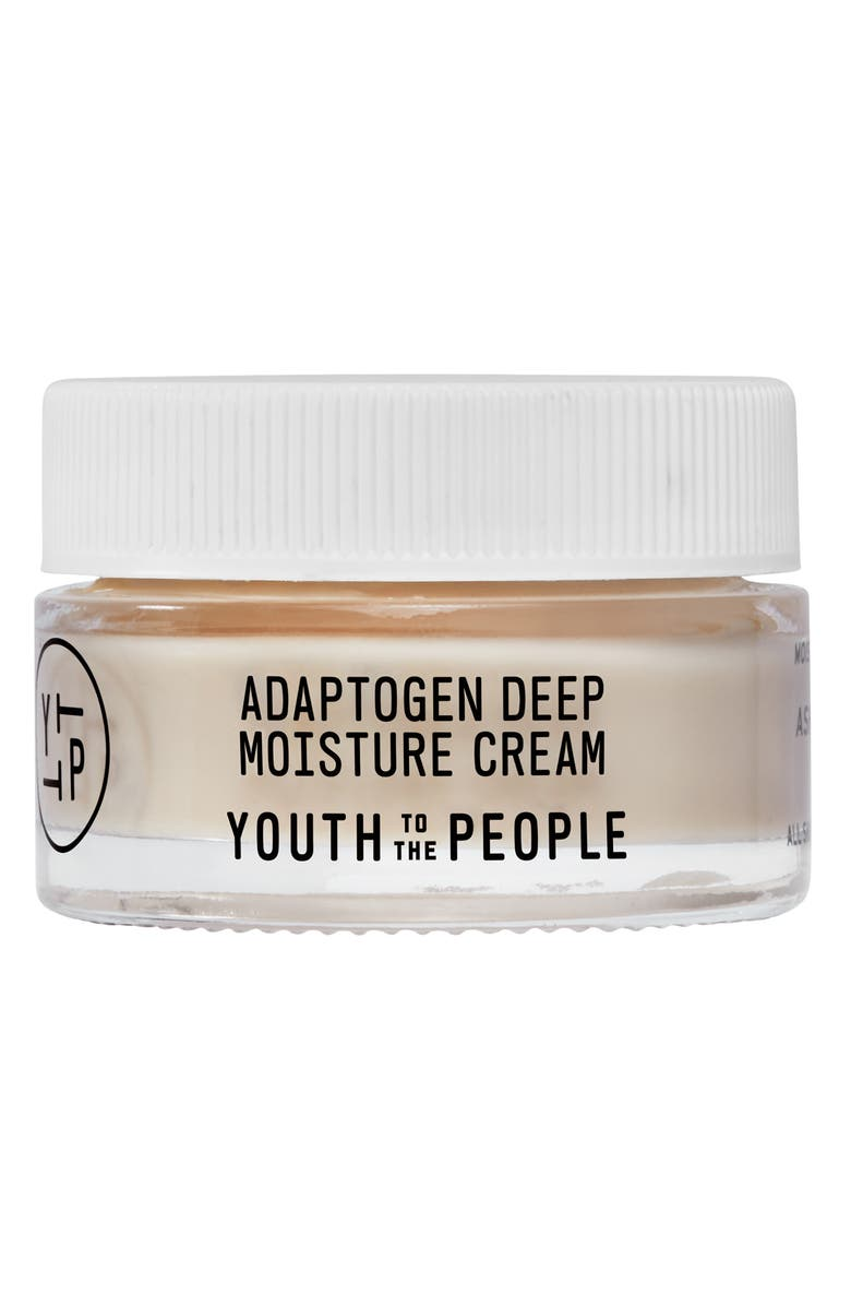 YOUTH TO THE PEOPLE Mini Adaptogen Deep Moisture Cream, Main, color, NO COLOR
