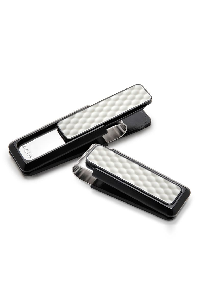 M-CLIP<SUP>®</SUP> Golf Ball Money Clip, Main, color, BLACK/ WHITE