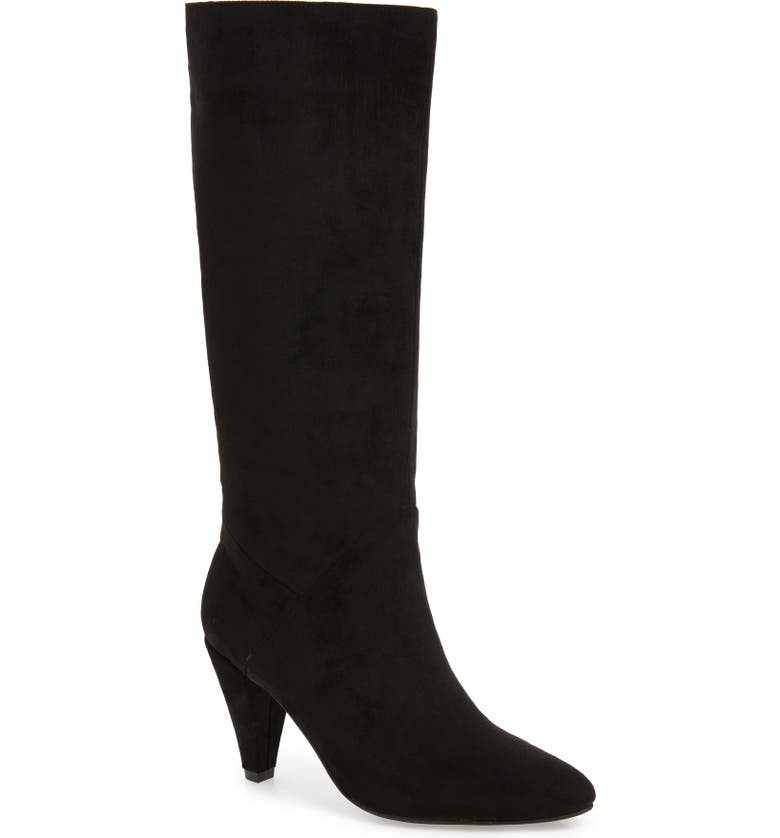 JEFFREY CAMPBELL Jeffery Campbell Candle Knee High Boot, Main, color, 005