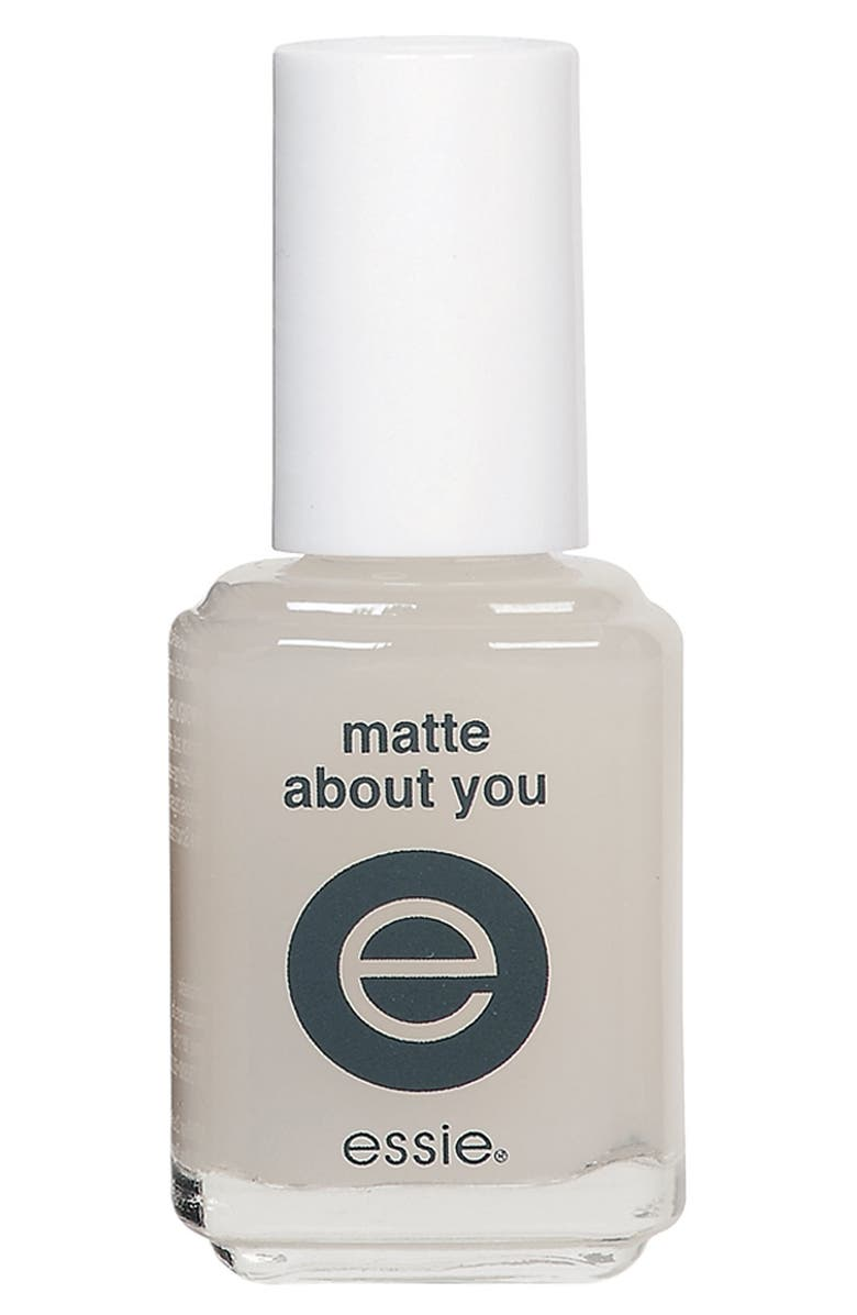 ESSIE <sup>®</sup> 'Matte About You' Finisher, Main, color, 000