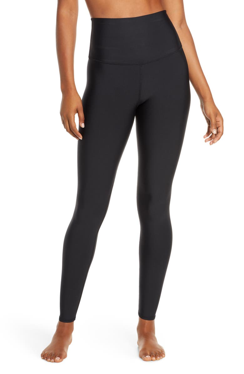ALO Airlift Extreme High Waist Leggings, Main, color, Black