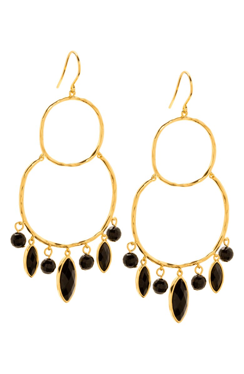 GORJANA Eliza Chandelier Earrings, Main, color, 001
