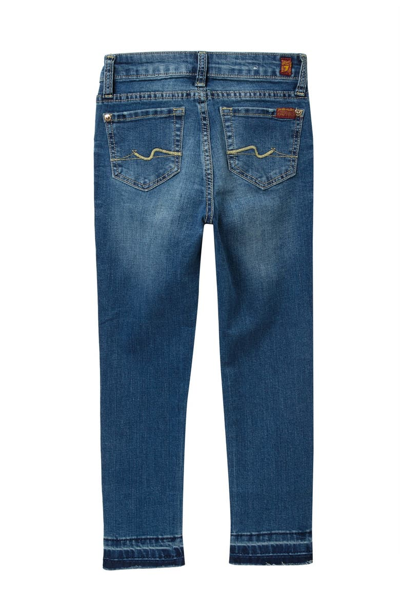 7 FOR ALL MANKIND The Ankle Skinny Jeans, Main, color, BELLA HERITAGE