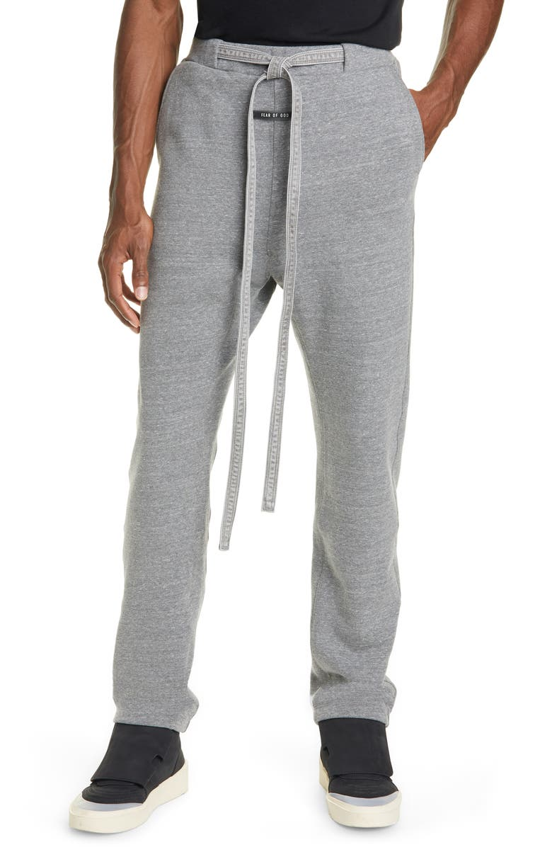 FEAR OF GOD Feaf of God Relaxed Sweatpants, Main, color, HEATHER GREY